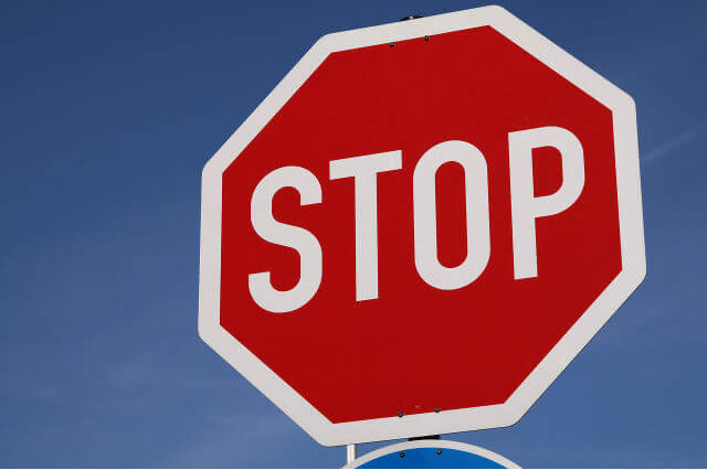 STOP 看板